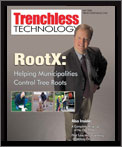 Trenchless Technology's Cover Story on RootX